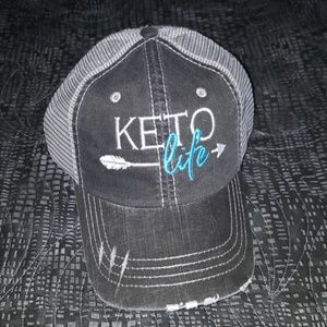 Accessories - ONE OF A KIND Keto Life cap hat - brand new!